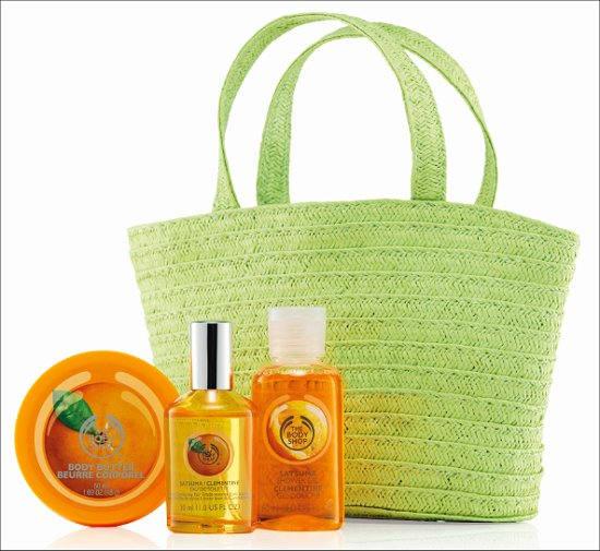 The Body Shop Satsuma Mother's Day Gift