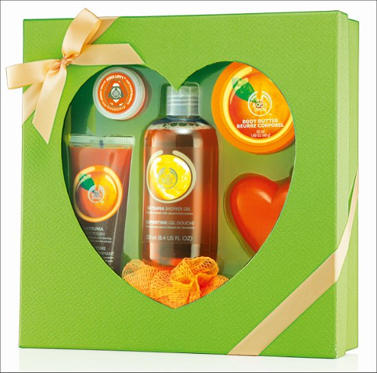 The Body Shop Satsuma Mother's Day Gifts