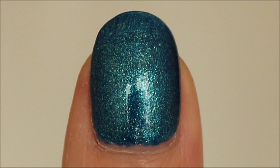 Ford Mustang by OPI The Sky's My Limit Swatches