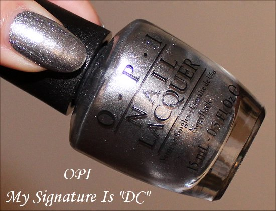 My Signature Is DC OPI Coca-Cola Collection