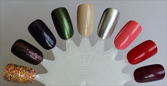 OPI Coca-Cola Collection Swatch