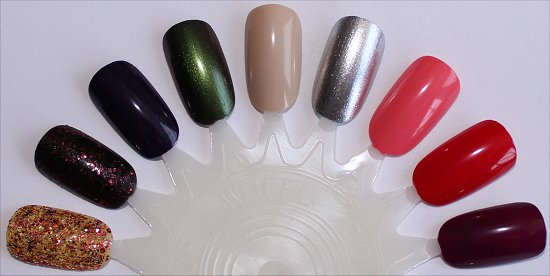 OPI Coca-Cola Collection Swatches