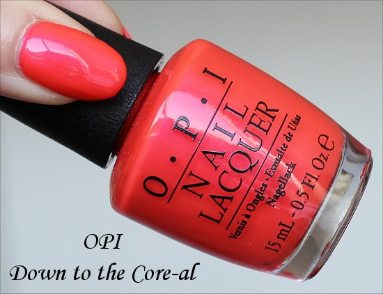 OPI Down to the Core-al Neon Collection