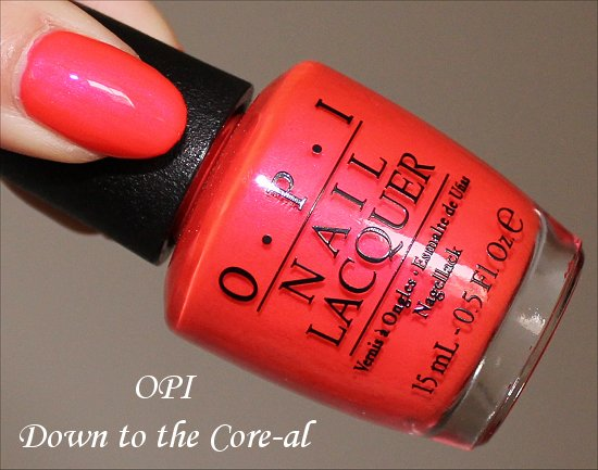 OPI Down to the Core-al OPI Neon Collection 2014