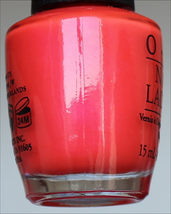 OPI Down to the Core-al OPI Neon Collection