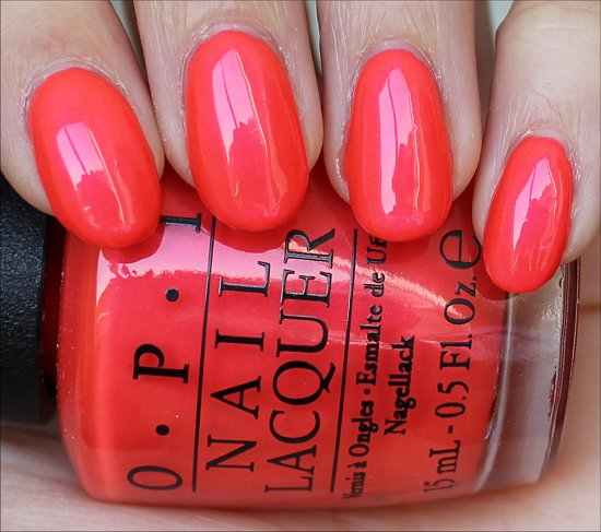 OPI Down to the Core-al Review & Swatches