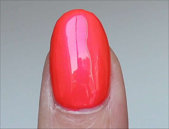 OPI Down to the Core-al Swatch & Review