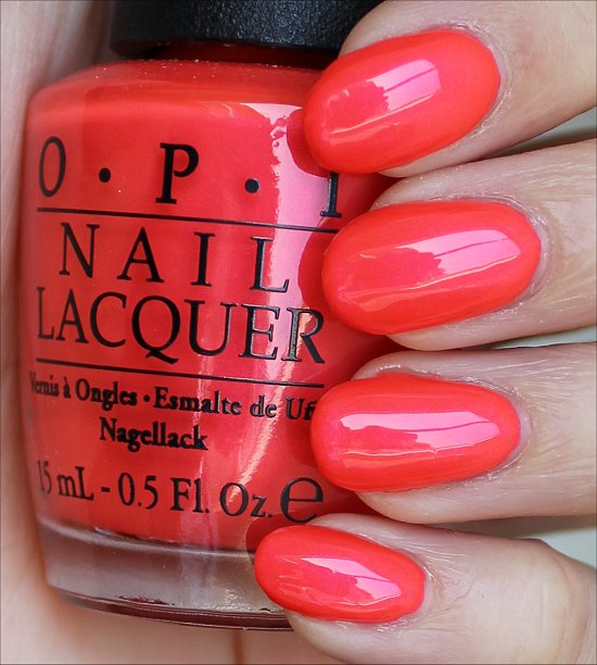 OPI Down to the Core-al Swatches & Review