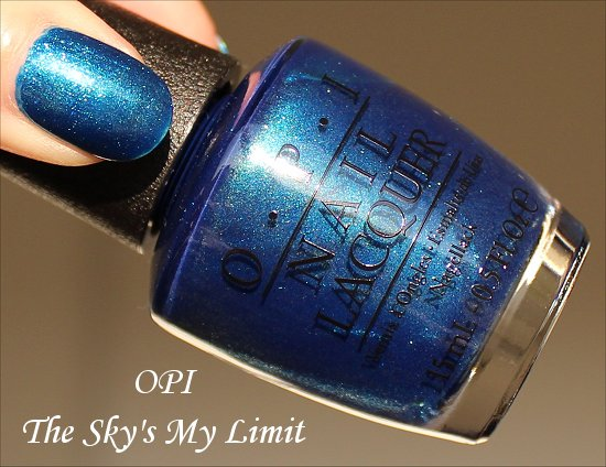 OPI Ford Mustang Collection The Sky's My Limit