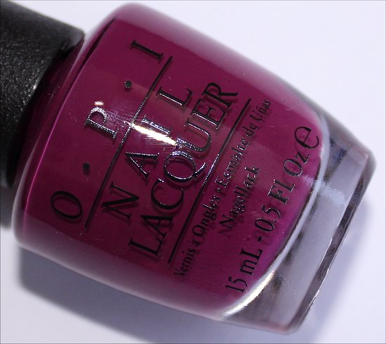 OPI Get Cherried Away OPI Coca-Cola Collection