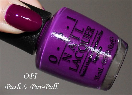 OPI Push & Pur-Pull OPI Neon Collection