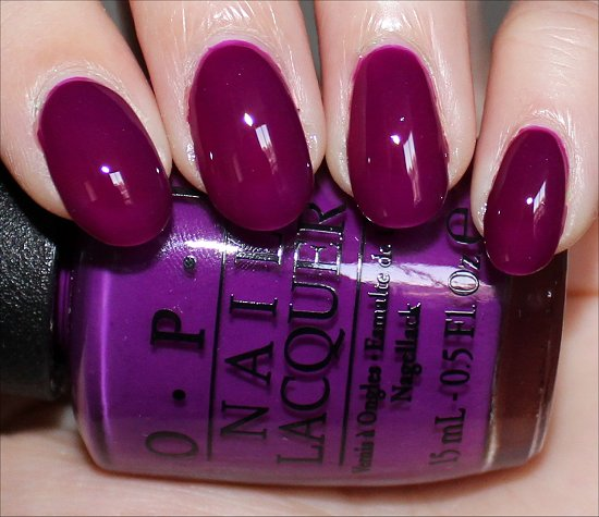 OPI Push & Pur-Pull Swatch & Photos