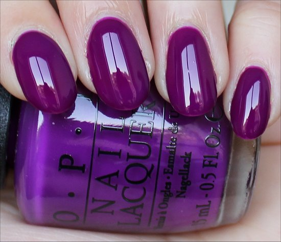 OPI Push & Pur-Pull Swatch