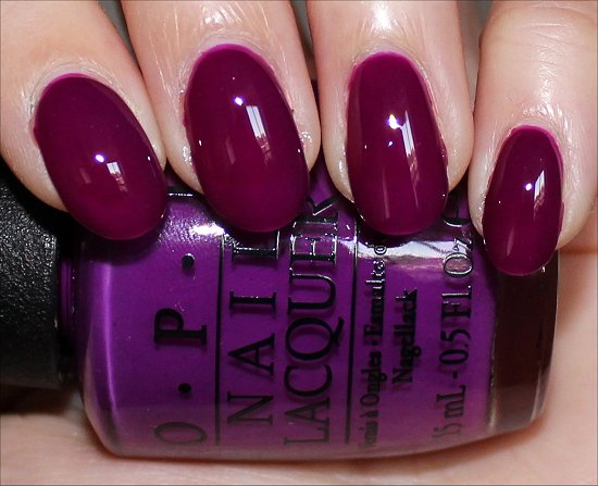 OPI Push & Pur-Pull Swatches & Pictures