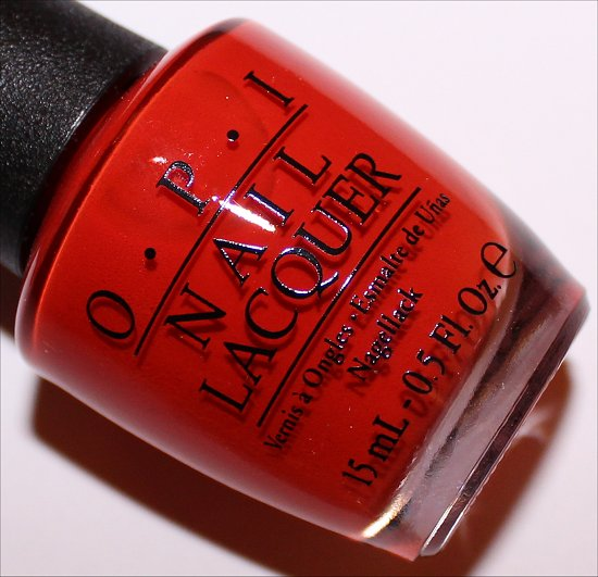 OPI Race Red OPI Ford Mustang Collection