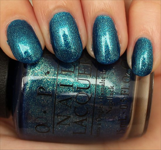 OPI The Sky's My Limit Ford Mustang Collection 2014 Swatches