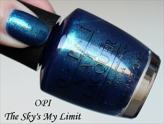 OPI The Sky's My Limit Review