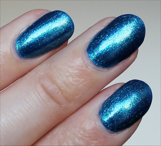OPI The Sky's My Limit Swatch Ford Mustang Collection Swatches