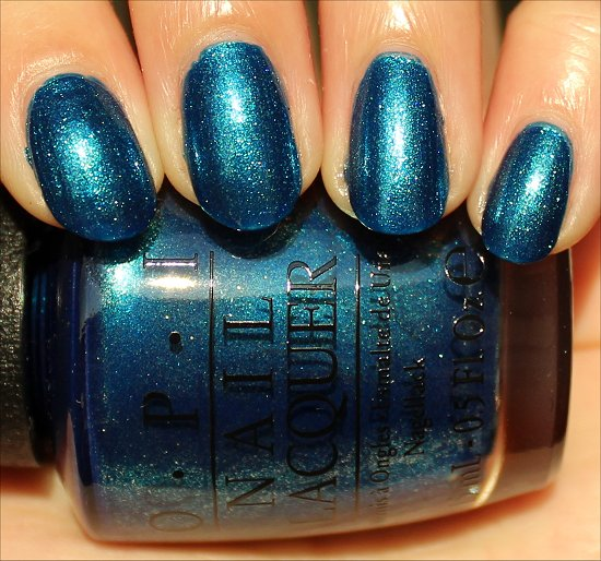 OPI The Sky's My Limit Swatch & Pictures