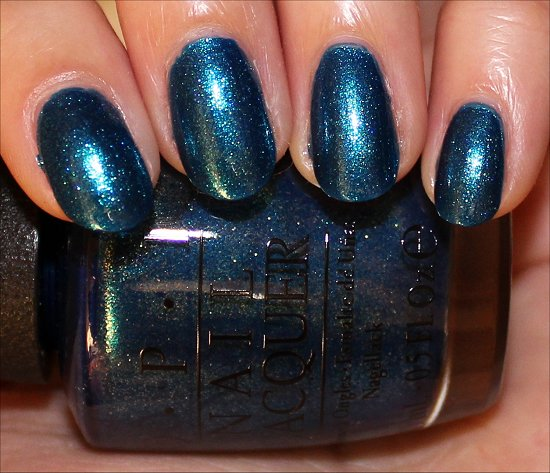 OPI The Sky's My Limit Swatch, Review & Photos