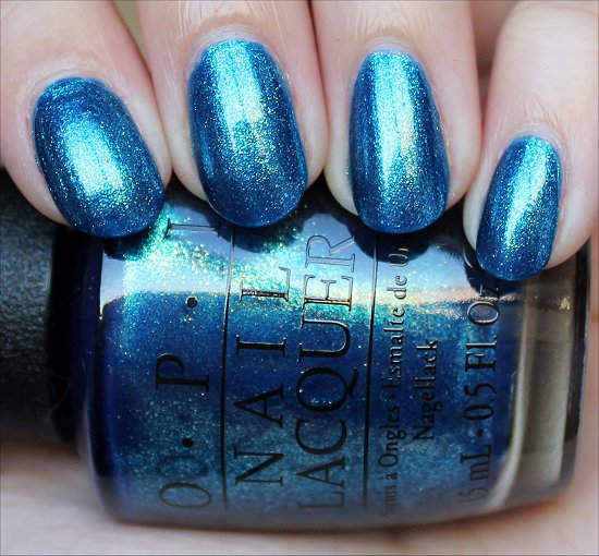 OPI The Sky's My Limit Swatch & Review