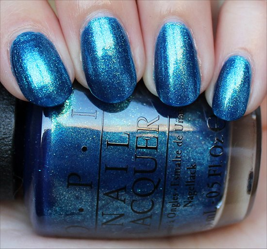 OPI The Sky's My Limit Swatches & Pictures