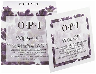 OPI Wipe-Off! Acetone Free Lacquer Remover Wipes