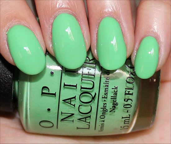 OPI You Are So Outta Lime Review & Swatches