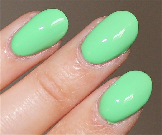 OPI You Are So Outta Lime Swatch & Review