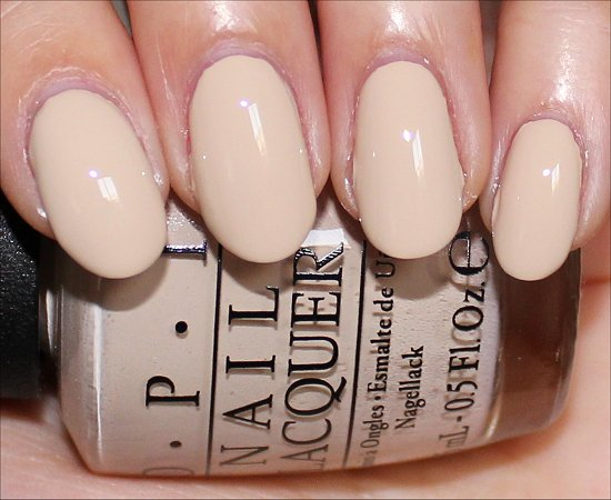 OPI You're So Vain-illa Pictures & Swatches