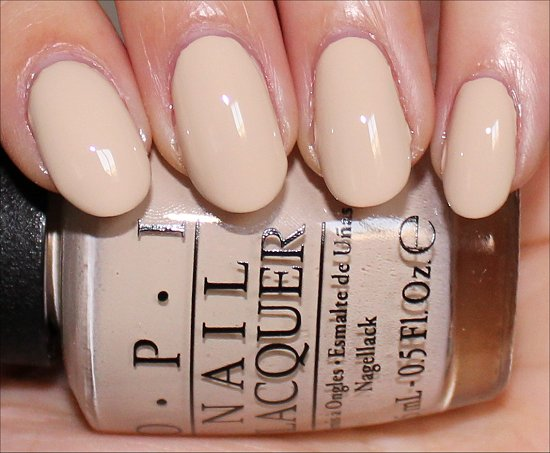 OPI You're So Vain-illa Swatch & Pictures