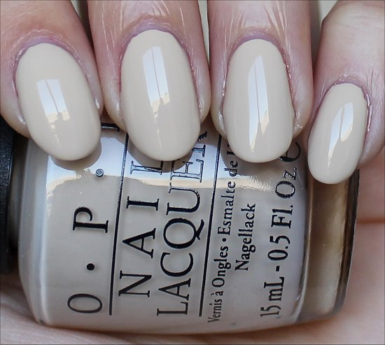 OPI You're So Vain-illa Swatch
