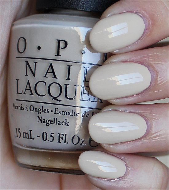 OPI You're So Vain-illa Swatches & Review
