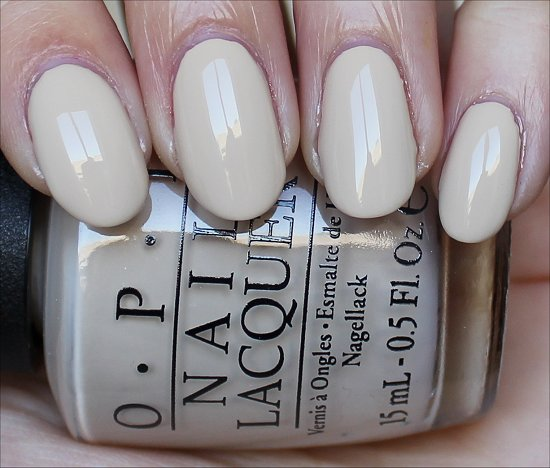 OPI You're So Vain-illa Swatches