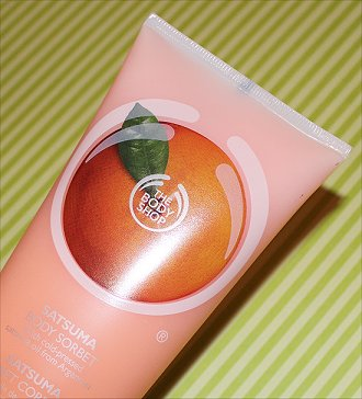 The Body Shop Satsuma Body Sorbet Review