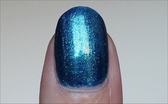 The Sky's My Limit OPI Ford Mustang Collection Swatches