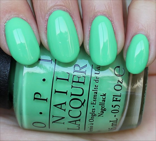 You Are So Outta Lime OPI Neon Collection Swatches