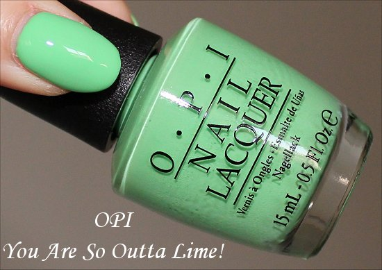 You Are So Outta Lime by OPI Neon Collection
