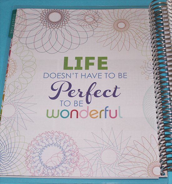 Erin Condren Life Doesn't Have to Be Perfect to Be Wonderful