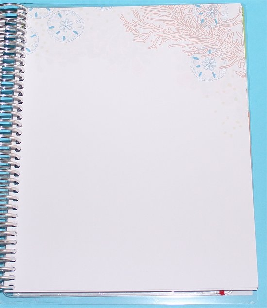 Erin Condren Life Planner Blank Pages
