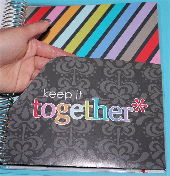 Erin Condren Life Planner Keep It Together Folder Photos