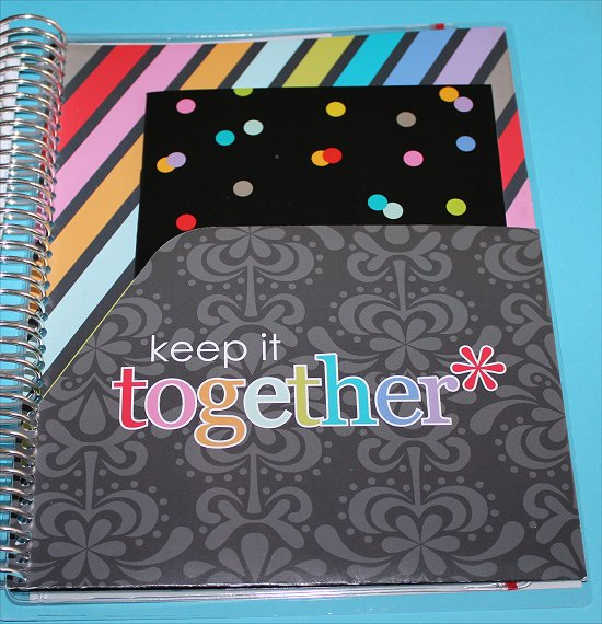 Erin Condren Life Planner Keep It Together Folder