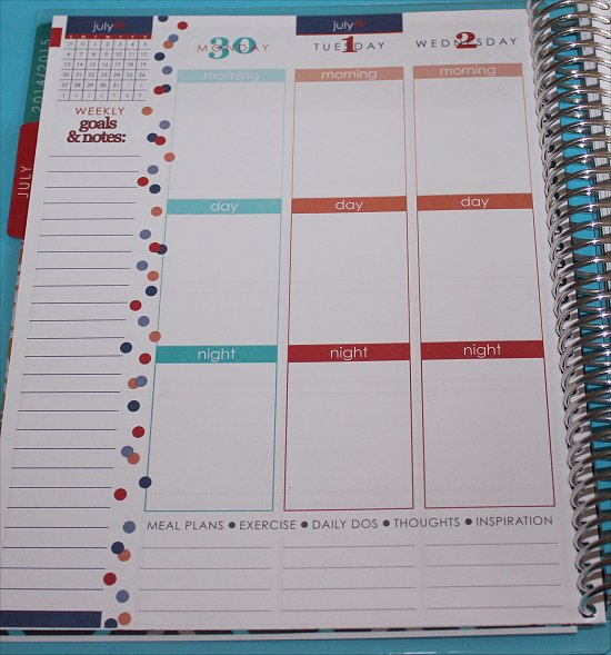Erin Condren Life Planner Weekly View 2