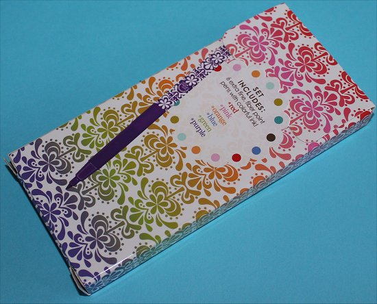 Erin Condren Markers Back of the Box