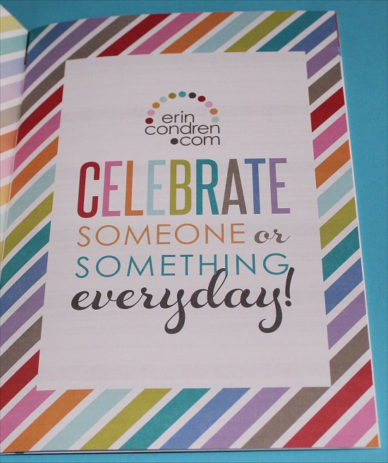 Erin Condren Perpetual Calender & Contacts