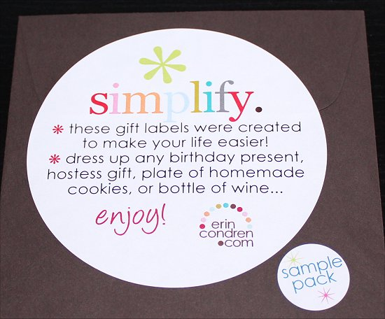 Erin Condren Sample Stickers