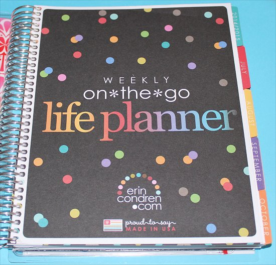Erin Condren Weekly On the Go Life Planner