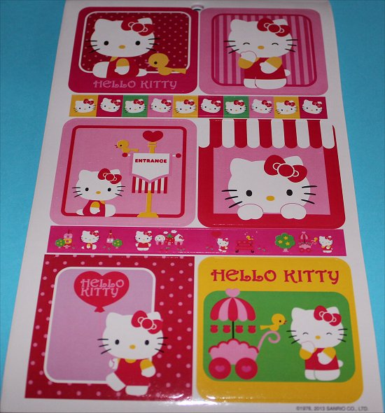 Hello Kitty Stickers 6
