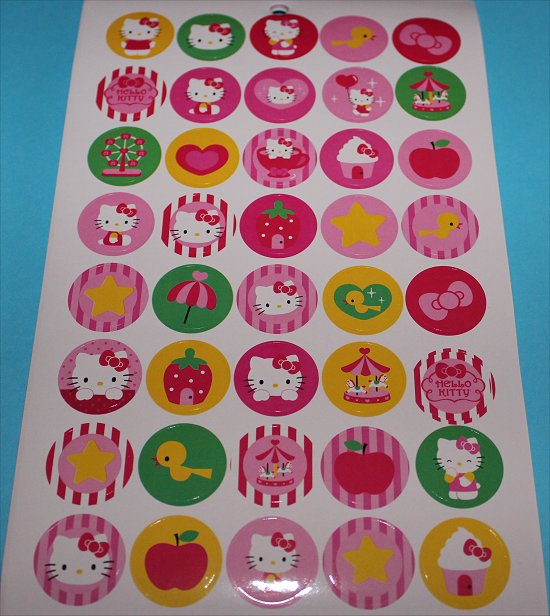Hello Kitty Stickers 8