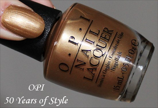 OPI 50 Years of Style Review, Swatch & Pictures